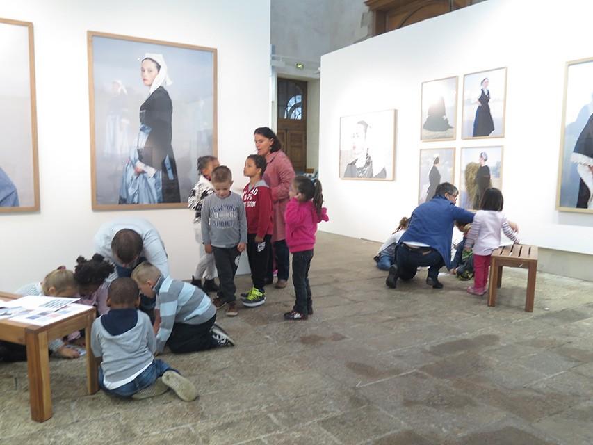 Les visites au Centre d'art GwinZegal - © GwinZegal